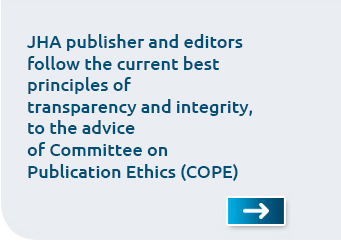 ADVICE of Committee on Publication Ethics (COPE)